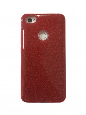 Silicone 3in1 Блёстки  Samsung J730 Red