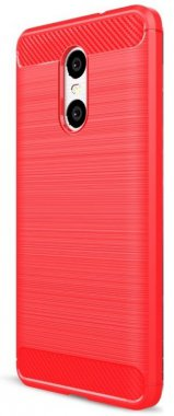 Силикон (carbon) Meizu M5s red New!!