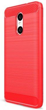 Силикон (carbon) Meizu M5 Note red New!!