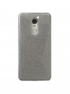 Silicone 3in1 Блёстки  Samsung S7 Edge White
