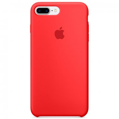 Copy Apple Silicone Case iPhone 7+ Red