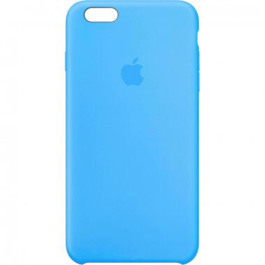 Чехол Apple Original Silicone Case для iPhone 6 Plus Blue