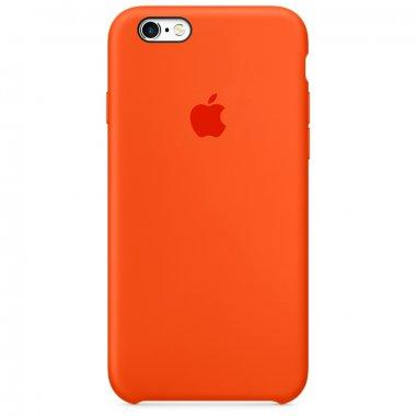 Чехол Apple Original Silicone Case для iPhone 6 Plus Orange