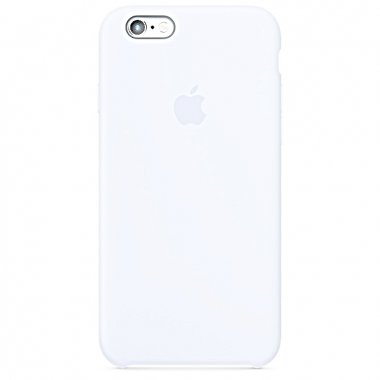 Чехол Apple Original Silicone Case для iPhone 6 Plus White