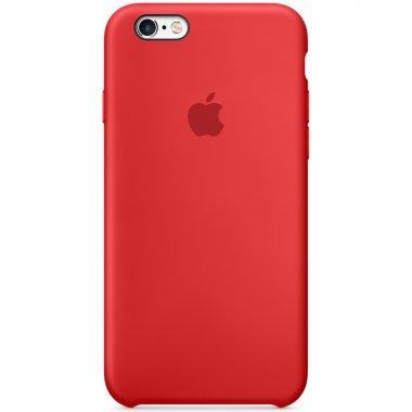 Чехол Apple Original Silicone Case для iPhone 6 Plus Red