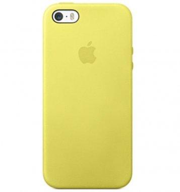 Чехол Apple Original Silicone Case для iPhone 6 Plus Yellow