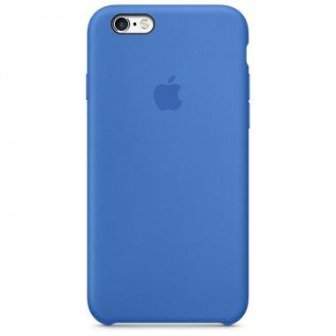 Чехол Apple Original Silicone Case для iPhone 6 Royal Blue
