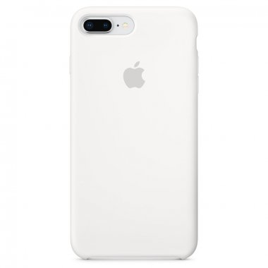 Чехол Apple Original Silicone Case для iPhone 7 Plus White