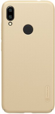 Чехол-накладка Nillkin Super Frosted Shield Xiaomi Redmi Note 7 Gold