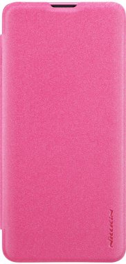 Чехол-книжка Nillkin Sparkle Leather Case Samsung Galaxy S10 (SM-G973) Red
