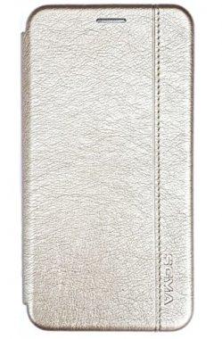 Чехол - книжка SGMA для Samsung A40 Gold