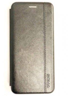 Чехол - книжка SGMA для Samsung A40 Black
