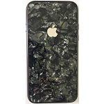 Чехол - накладка Glass TPU Case Хром для Apple iPhone 7/8 Black