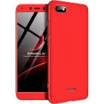 Чехол-накладка GKK 3 in 1 Hard PC Case Xiaomi Redmi 6A Red