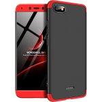 Чехол-накладка GKK 3 in 1 Hard PC Case Xiaomi Redmi 6A Red/Black