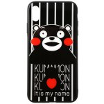 Чехол-накладка TOTO Cartoon Print Glass Case Apple iPhone X/Xs Kumamon
