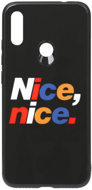 7 cartoon case chehol glass nakladka nice nice note print redmi toto xiaomi