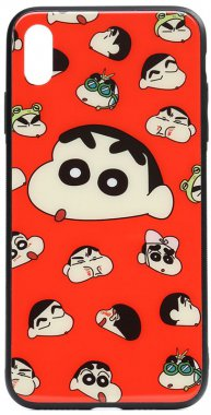 apple cartoon case chehol glass iphone monkey nakladka print toto xxsa