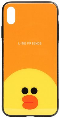 apple cartoon case chehol friends glass iphone line nakladka print sally toto xxs