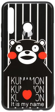 2019 cartoon case chehol glass huawei kumamon nakladka p print smartplus toto