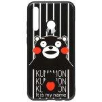 Чехол-накладка TOTO Cartoon Print Glass Case Huawei P Smart+ 2019 Kumamon