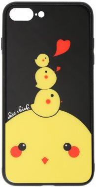 7 apple cartoon case chehol chick chicken glass iphone nakladka plus plus8 print toto