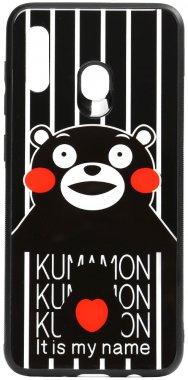 a20a30 cartoon case chehol galaxy glass kumamon nakladka print samsung toto
