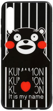 a70 cartoon case chehol galaxy glass kumamon nakladka print samsung toto