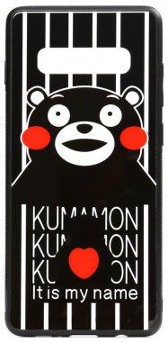 cartoon case chehol galaxy glass kumamon nakladka print s10plus samsung toto