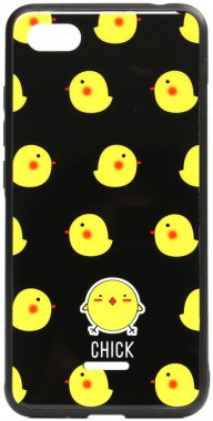 6a cartoon case chehol chick glass nakladka print redmi toto xiaomi