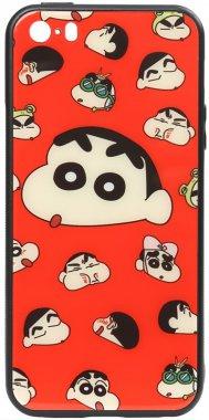 a apple cartoon case chehol glass iphone monkey nakladka print se5s5 toto