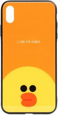 apple cartoon case chehol friends glass iphone line nakladka print sally toto xsmax