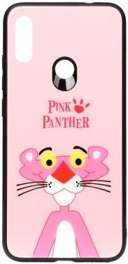 7 cartoon case chehol glass nakladka note panther pink print redmi toto xiaomi