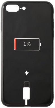 7 apple battery cartoon case charge chehol glass iphone nakladka plus plus8 print toto