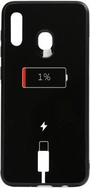 a20a30 battery cartoon case charge chehol galaxy glass nakladka print samsung toto