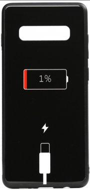 battery cartoon case charge chehol galaxy glass nakladka print s10e samsung toto