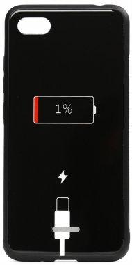 6a battery cartoon case charge chehol glass nakladka print redmi toto xiaomi