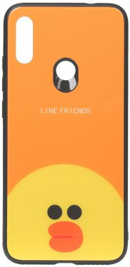 7 cartoon case chehol friends glass line nakladka note print redmi sally toto xiaomi