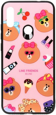7 cartoon case chehol friends glass linc line nakladka note print redmi toto xiaomi