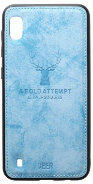 a10 blue case chehol deer effect galaxy leather nakladka samsung shell toto with