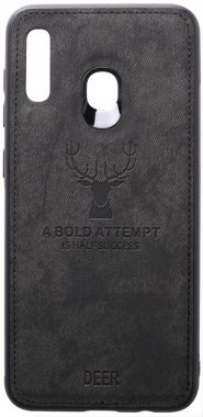 a20a30 black case chehol deer effect galaxy leather nakladka samsung shell toto with