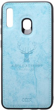 a20a30 blue case chehol deer effect galaxy leather nakladka samsung shell toto with