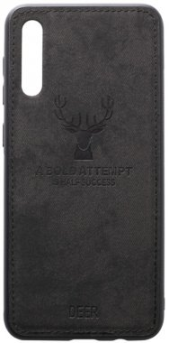 a50 black case chehol deer effect galaxy leather nakladka samsung shell toto with