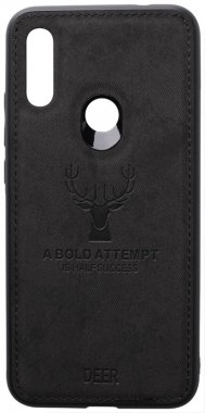 7 black case chehol deer effect leather nakladka redmi shell toto with xiaomi