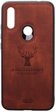 7 brown case chehol deer effect leather nakladka redmi shell toto with xiaomi