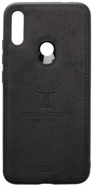 7 black case chehol deer effect leather nakladka note redmi shell toto with xiaomi