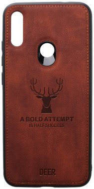 7 brown case chehol deer effect leather nakladka note redmi shell toto with xiaomi