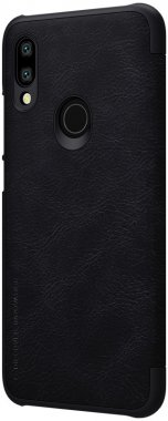 black case chehol knizhka leather nillkin qin7y3 redmi xiaomi