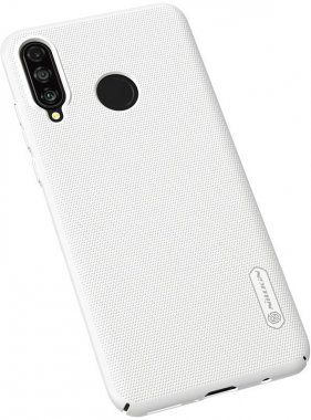 case chehol frosted huawei lite nakladka nillkin p30 shield super white
