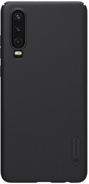 black case chehol frosted huawei nakladka nillkin p30 shield super